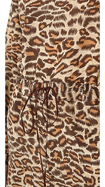 ONE by Amour Vert Leopard Jumpsuit