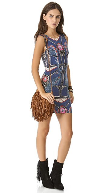 ONE by En Shalla Fringe Cross Body Bag