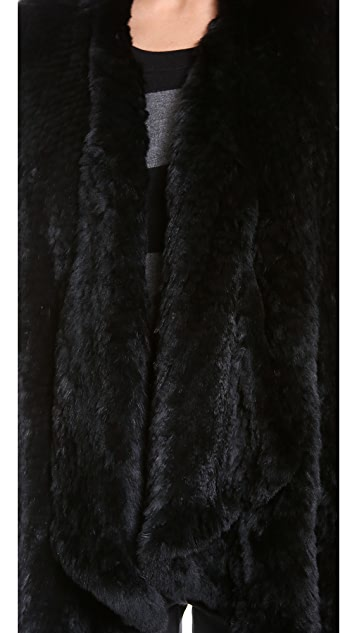 ONE by H Brand Ashleigh Fur Coat