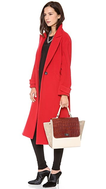 ONE by Michaella Barri Collection Colorblock Satchel