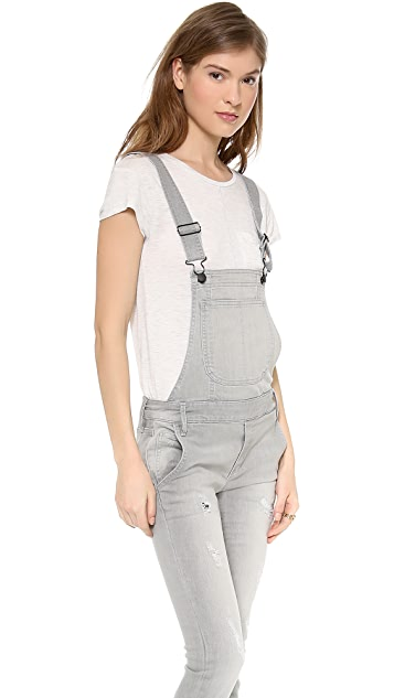 ONE by Black Orchid Skinny Overalls
