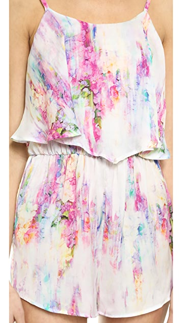 ONE by Oh My Love Frill Front Romper