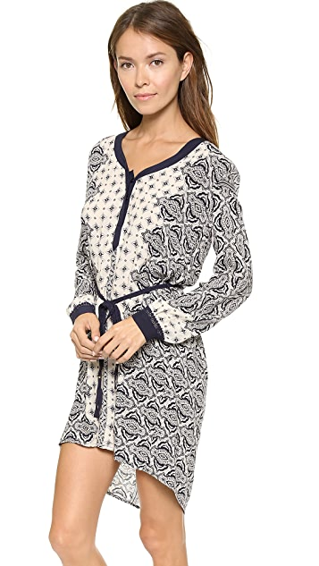 ONE by Gypsy 05 Casablanca Long Sleeve Tunic Dress