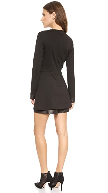 ONE by Beckley by Melissa Leather Romper
