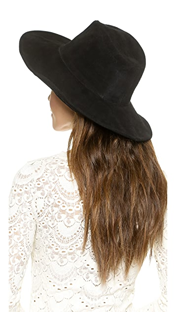 ONE by Lovely Bird Suede Bohemia Hat