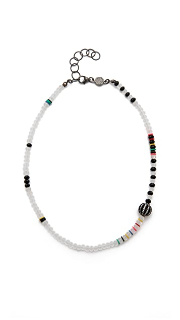 ONE by Bettina Duncan Crystal Bead Necklace