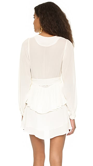 ONE by Pfeiffer Alexis Gathered Dress