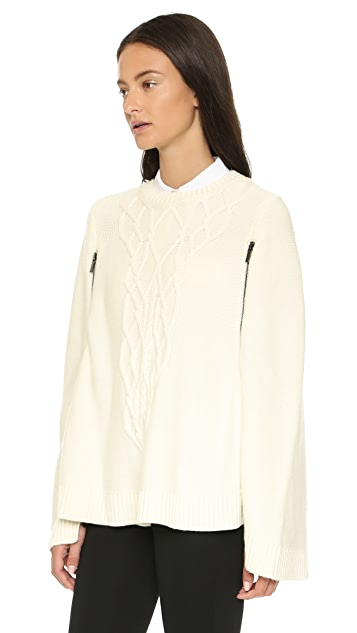 ONE by A. Moss Merino Wool Cape