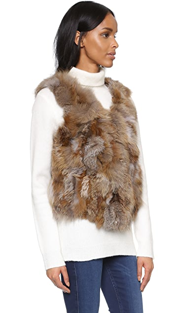 ONE by Love Token Luna Fur Vest