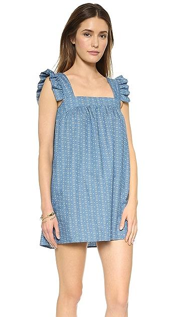 ONE by Honey Punch Ruffle Mini Dress