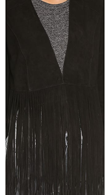 ONE by LAMARQUE Ronni Fringe Jacket