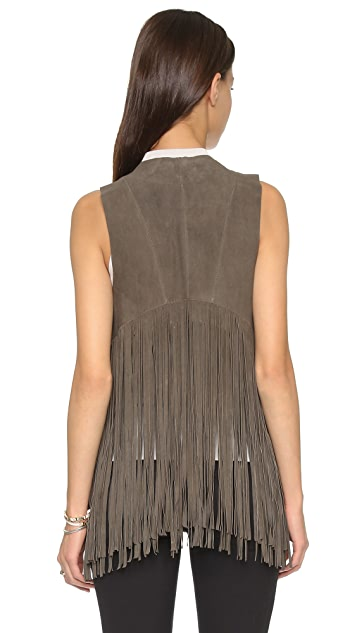 ONE by LAMARQUE Sonia Fringe Vest