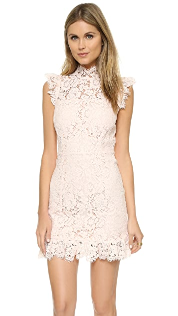 ONE by aijek Into the Night Dress - Blush