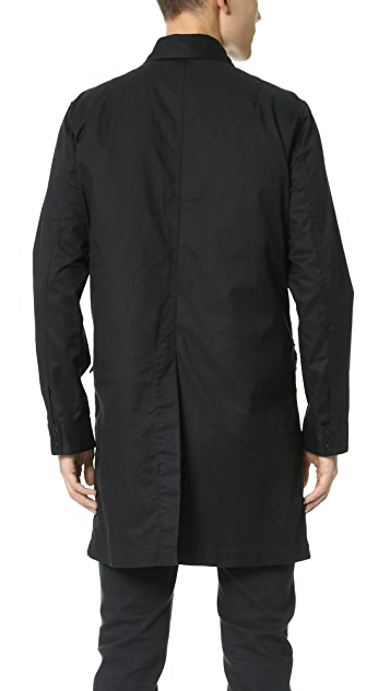 Ones Stroke Reversible Twill Coat