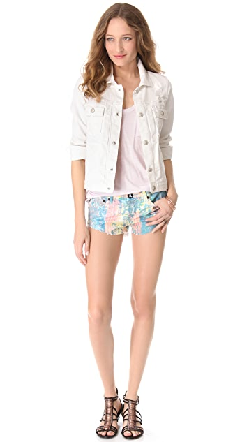 One Teaspoon Speckle Bonita Shorts