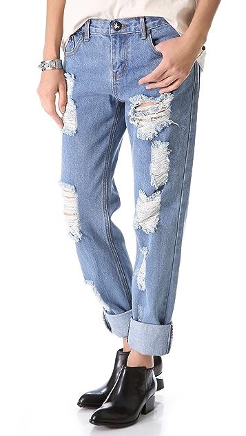 One Teaspoon Desperado Awesome Boyfriend Jeans