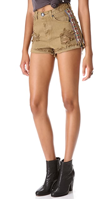 One Teaspoon Buffalo Hawk Shorts