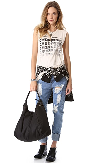 One Teaspoon Chopped Harry Sleeveless Tee