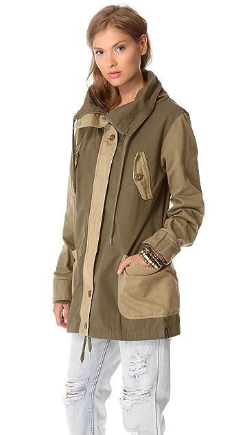 One Teaspoon Cry Tough Duffle Jacket