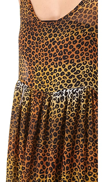 One Teaspoon Cheetah Minky Dress