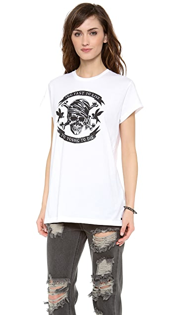 One Teaspoon Too Fast Gypsy Tee