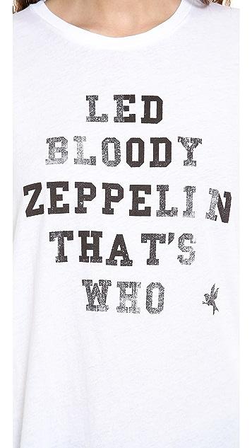 One Teaspoon Led Zeppelin Gypsy Tee