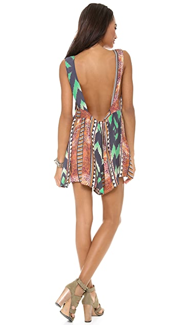 One Teaspoon Aztec Cali Romper