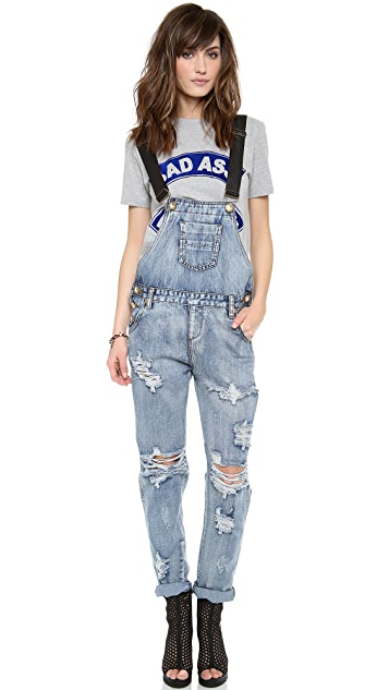 DUNGAREES - Jumpsuits ONE by Oneteaspoon X Free Shipping Cheapest xjAPh