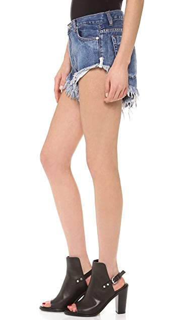 One Teaspoon Cobain Roller Shorts