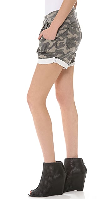 One Teaspoon Magnolia Military Shorts