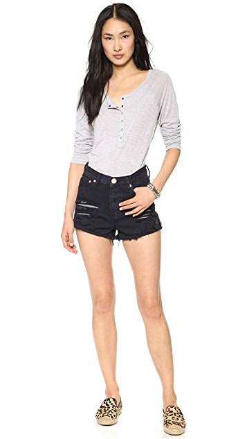 One Teaspoon London Hawk Shorts