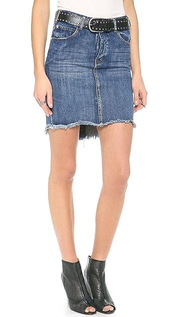 One Teaspoon 20/20 High Waist Skirt