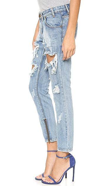 One Teaspoon Cobain Freebird Jeans