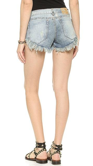 One Teaspoon Ford Bonita Shorts