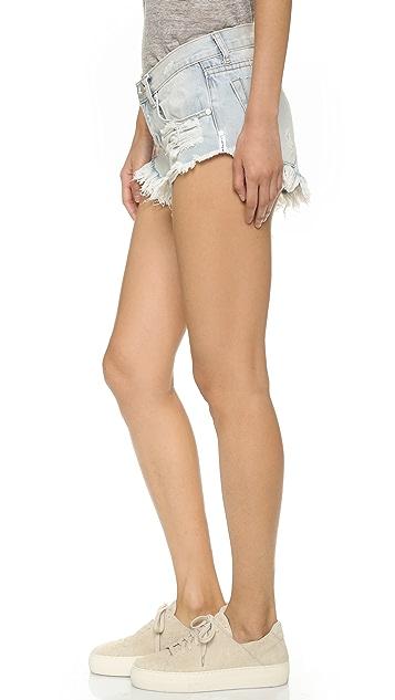 One Teaspoon Wilde Bonitas Shorts