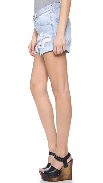 One Teaspoon Wilde Outlaws Shorts