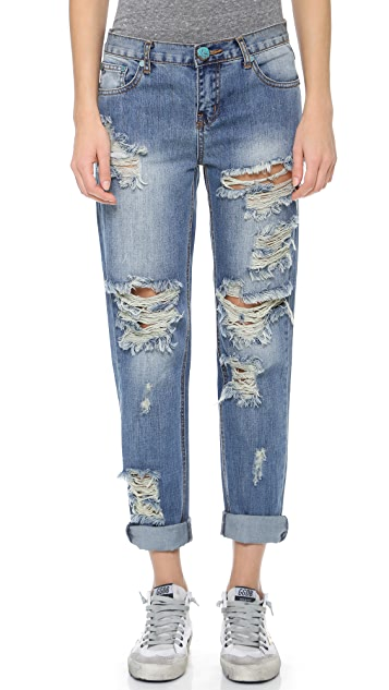 One Teaspoon Dusty Awesome Baggies Jeans