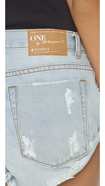 One Teaspoon The Beauty Bandits Shorts