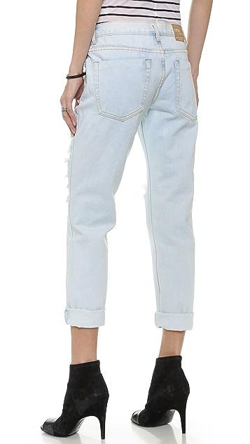 One Teaspoon Summer Blue Jeans
