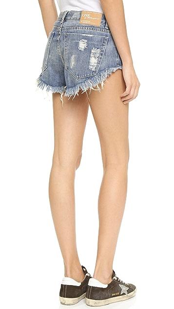One Teaspoon Husk Bonitas Shorts