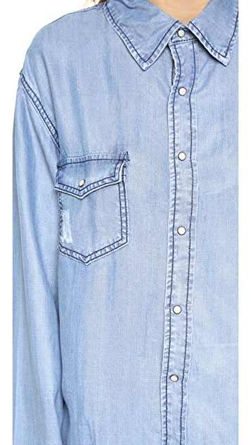 One Teaspoon Dallas Tencel Liberty Shirt