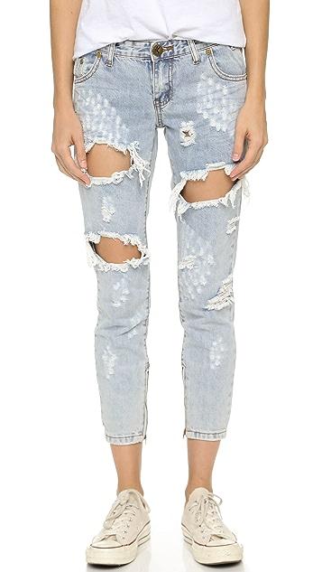 One Teaspoon Le Homme Freebird Jeans