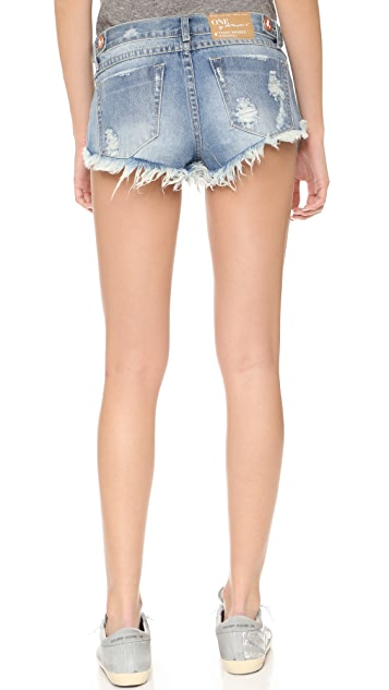 One Teaspoon Cutoff Shorts