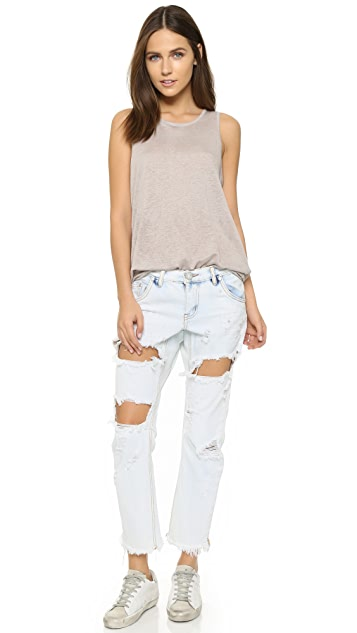 One Teaspoon Lonely Boy Slouch Jeans