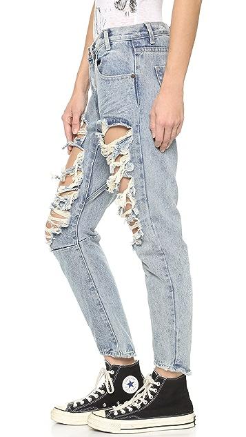 One Teaspoon Romance Saints Jeans