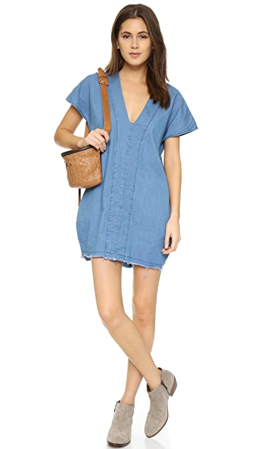 One Teaspoon Chambray Bangalow Dress