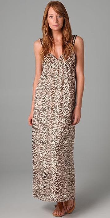 Only Hearts Leopard Long Dress