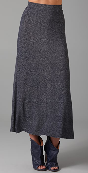 Only Hearts Denim Jersey Long Skirt