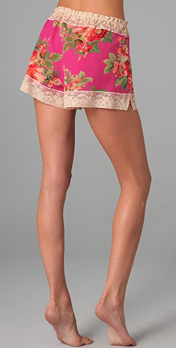 Only Hearts Last Rose of Summer Tap Pants