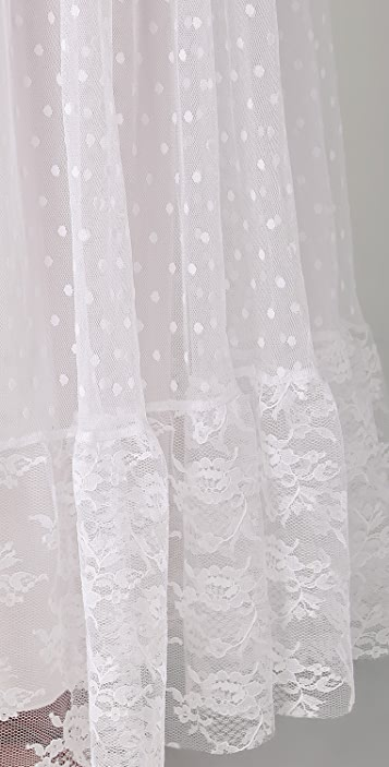 Only Hearts Petticoat Lace Maxi Dress